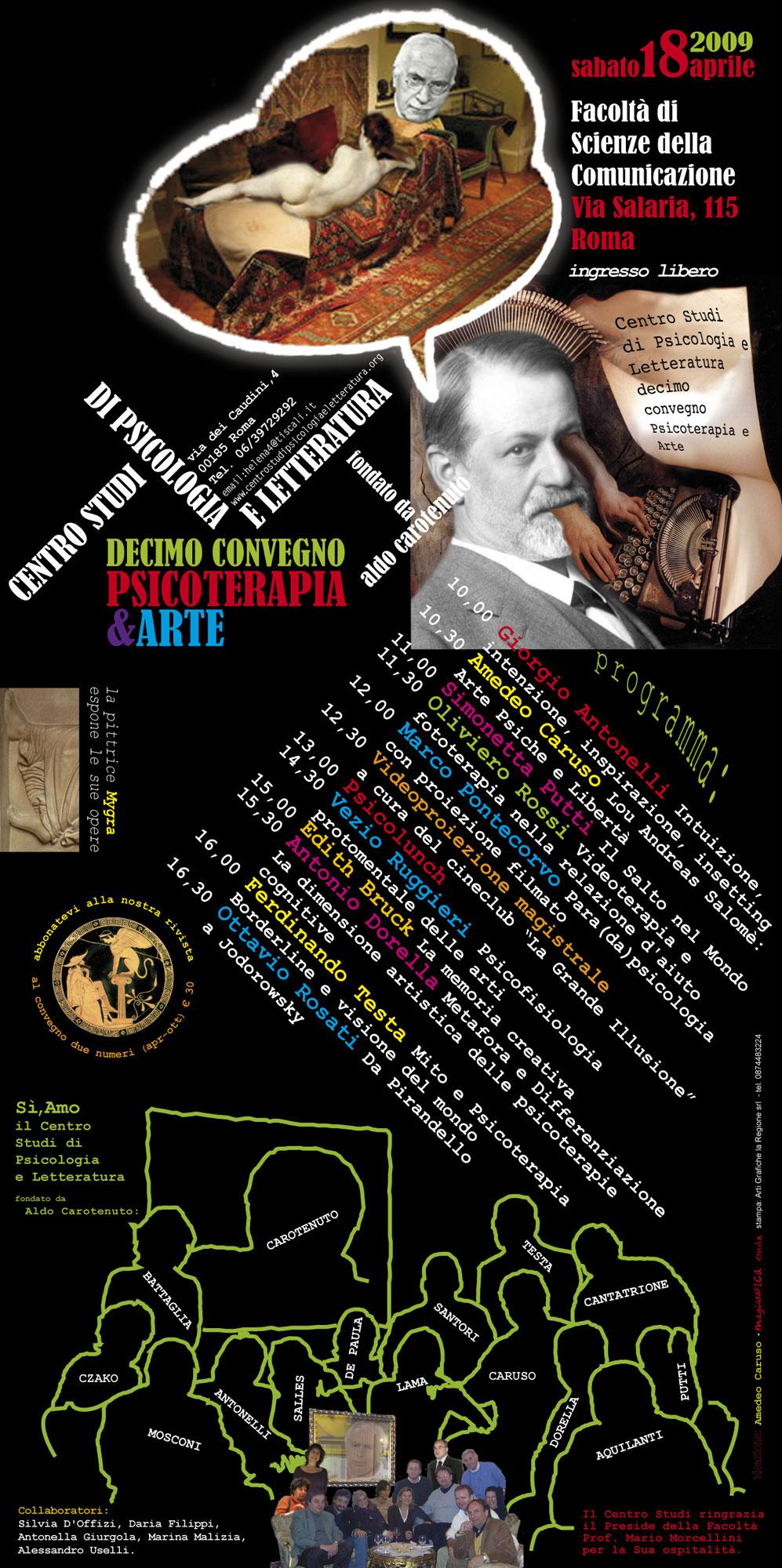 10° Convegno – 2009 – Psicoterapia & Arte