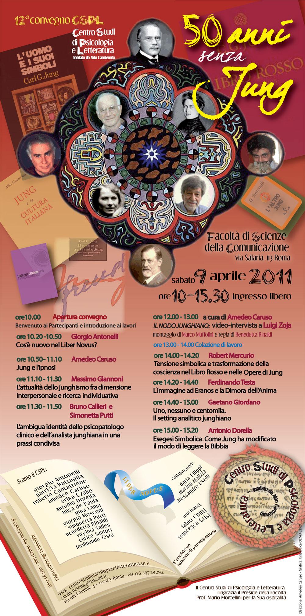 12° Convegno – 2011- Cinquanta anni senza Jung