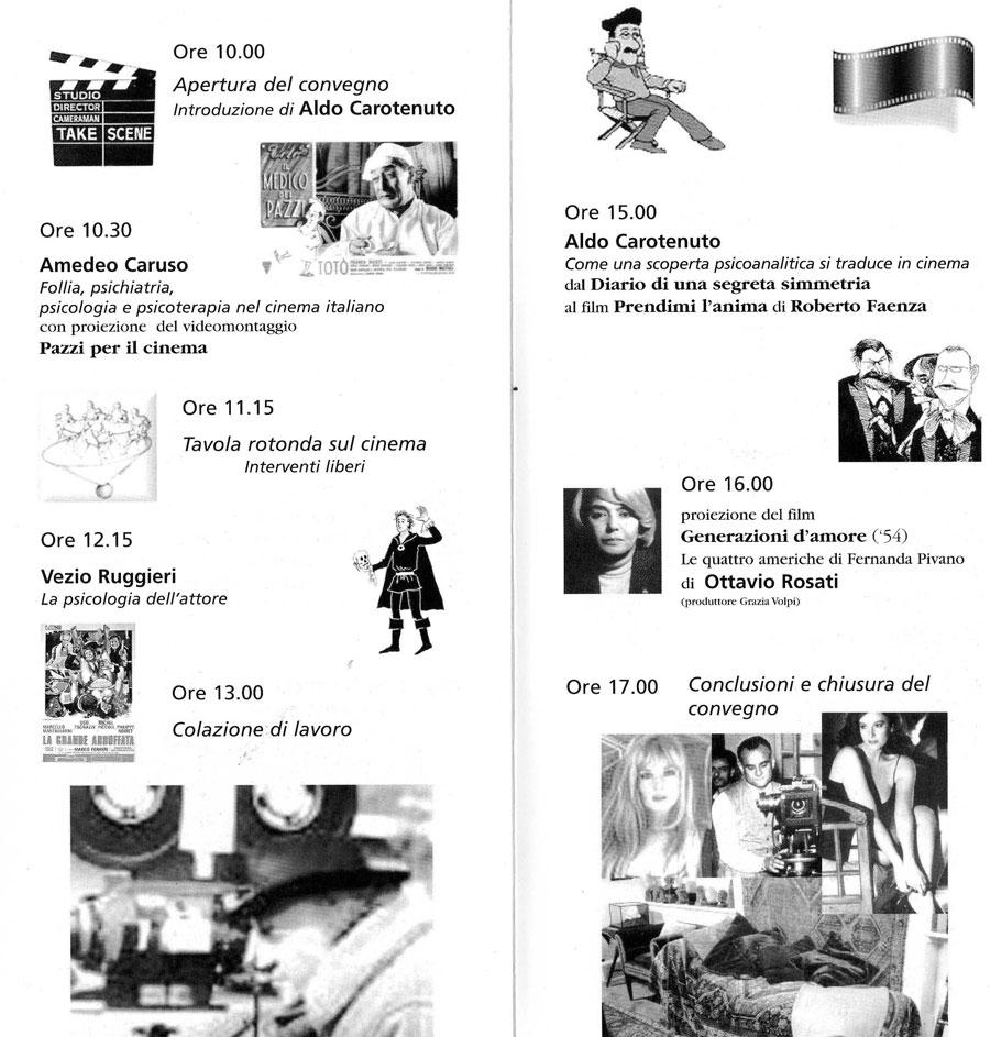 3° Convegno – 2002 – Cinema e Psicoanalisi