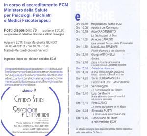 Programma 5 Convegno