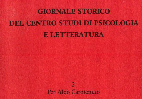 Vol. 2 – Per Aldo Carotenuto