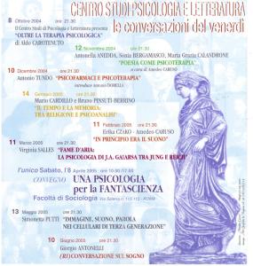 Conversazioni 2004 2005
