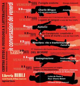 Conversazioni 2009 - 2010