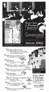 Conversazioni 2010 - 2011