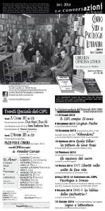 Conversazioni 2013 - 201411 Ottobre 2013