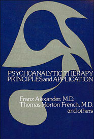 Psychoanalytic therapy principles and application