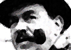 Gino Cervi nei panni del commissario Maigret