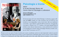 Vol. 18 – Psicologia e Ironia