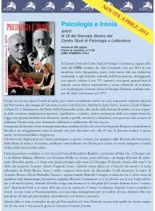 Locandina CSPL 18 Psicologia e ironia 9788865311745-3