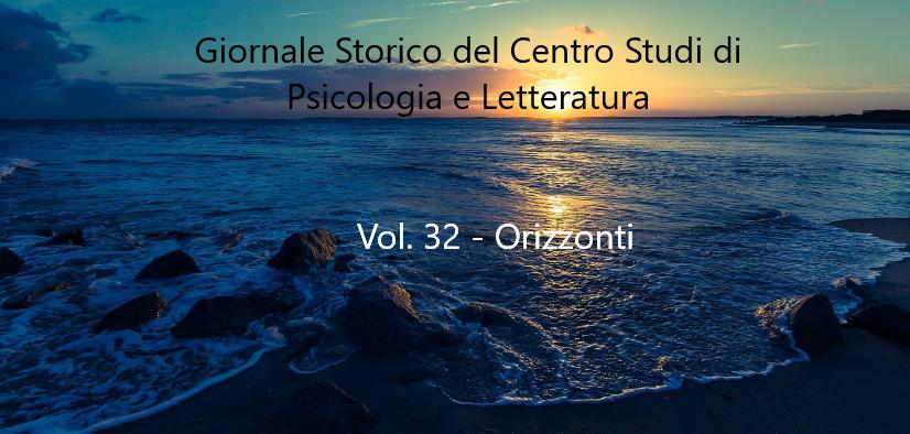 Orizzonti – Vol. 32 del Giornale Storico