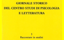 Vol. 3 – Raccontare in analisi